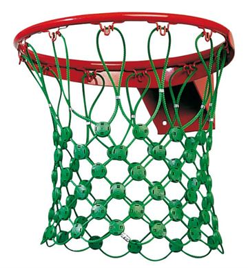 Basketballnet vandalsikret