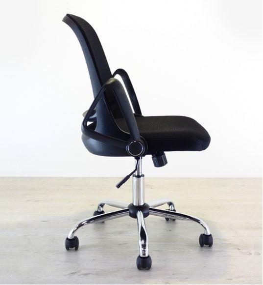 Opdateret Kontorstol med vippebart armlæn og god siddekomfort KE09