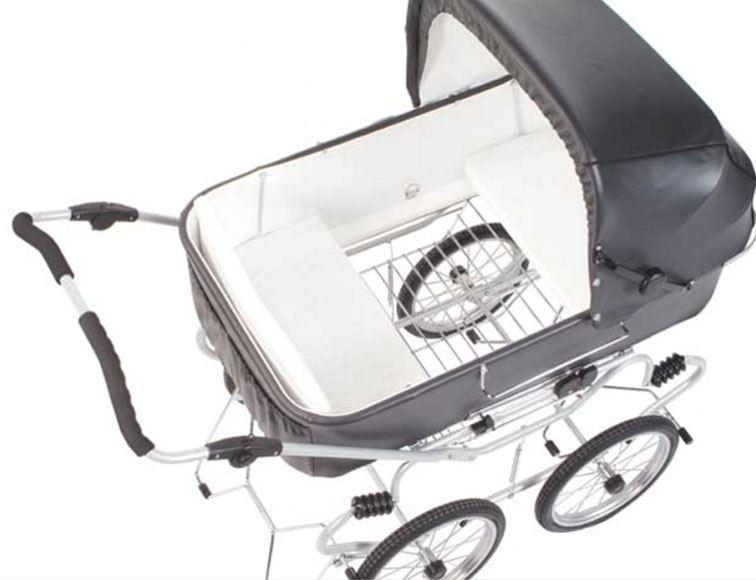 institutions barnevogn med motor